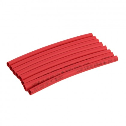 Radient Heat Shrink Tubing, 4.7mm x 100mm, 3/16x4in (8pcs) RED RDNA0615