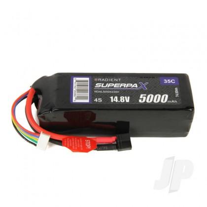 Radient LiPo 4S 5000mAh 14.8V 35C HCT RDNL50004S35H