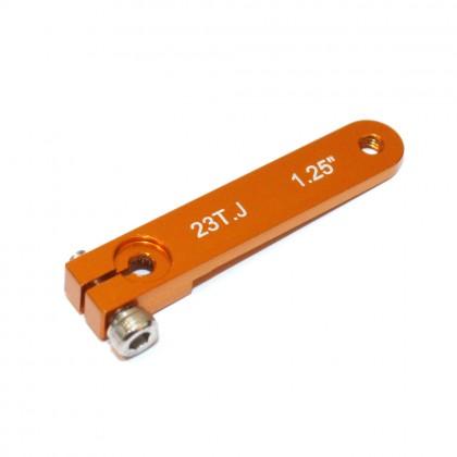 MacGregor JR Aluminium Servo Arm 1.25in M3 Gold ACC0018