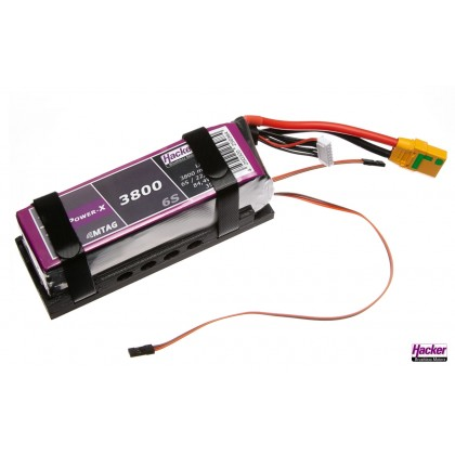 Hacker Battery Holder for TopFuel 3800 to 5000mAh & MTAG 32500800