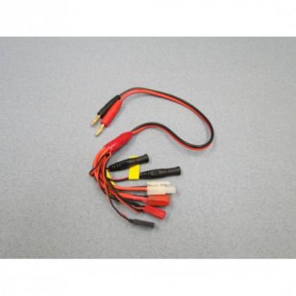 Charge Lead 4mm Tamiya Deans BEC Rx Futaba JR Tx O-LGL-CLMEP
