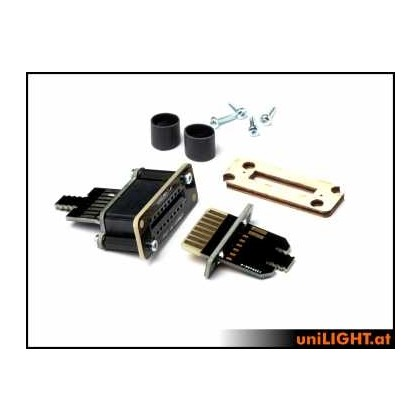 UniLight UniConnect Cable Connection Set 6 Primary 4 Secondary Pins DIY Kit DIRECT-6P4S-S-DIY