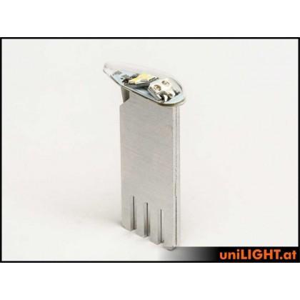 Unilight 11Wx2, T-Fuse 9mm DUAL Navigation + Flash, GNWE DUAL9F-110x2-GNWE