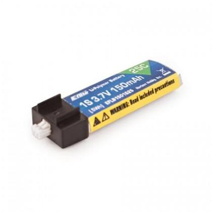 E-Flite 150mAh 1S 3.7v 25C LiPo Battery EFLB1501S25
