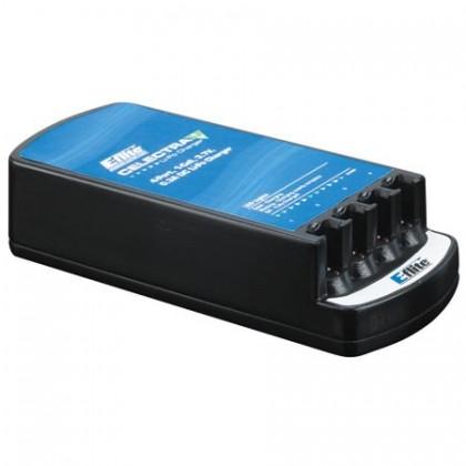 E-Flite Celectra 4-Port 1-Cell 3.7v 0.3A DC LiPo Charger EFLC1004