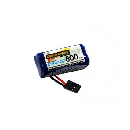 Overlander Panasonic Eneloop 800mAh AAA 4.8v RX Receiver Battery Pack Square 2823