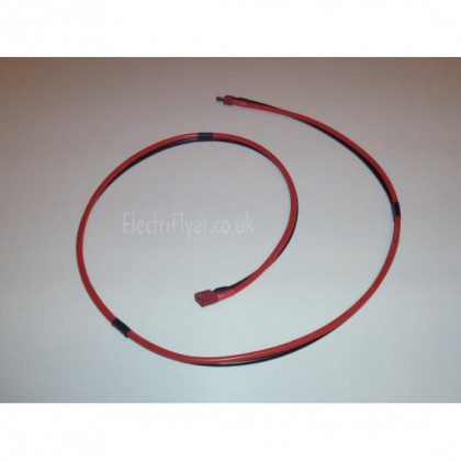 Deans Extension Lead 12AWG Silicone Wire 1m Long