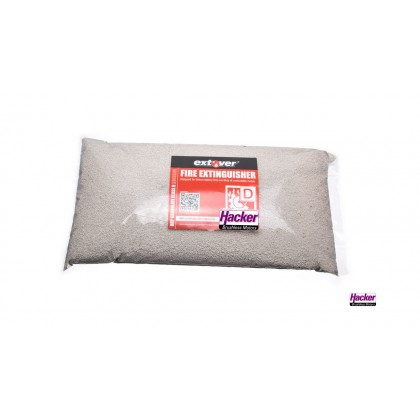Extover® - Fire protection and Fire-extinguishing granules for Lithium Batteries in plastic pillow 1L