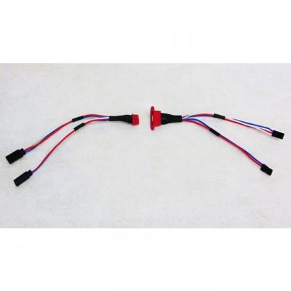 Extreme Flight MPX Multi-wire Servo Plug - 2 Wire EXTREXT2XP