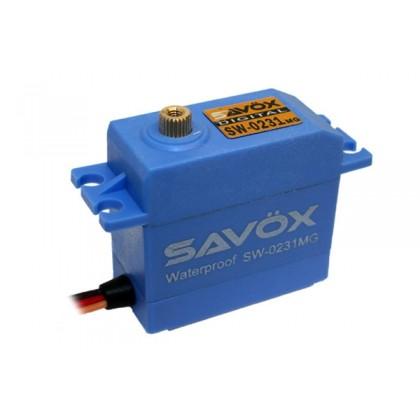 Savox SW-0231MG Waterproof HV Digital Servo 15kg/0.17s@6v