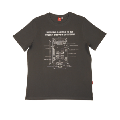 Powerbox T-Shirt - Anthracite Small