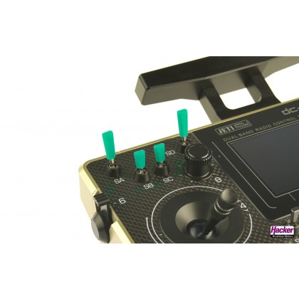 Hacker switch caps green (10pcs) 80009003