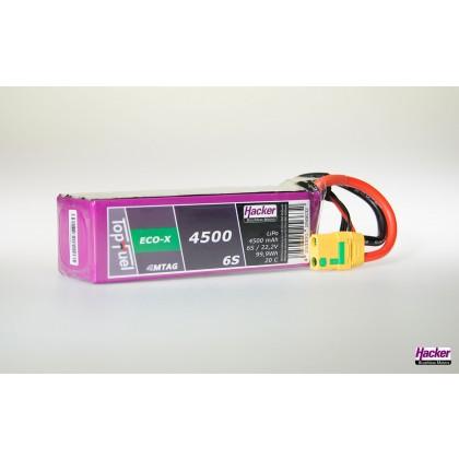 Hacker TopFuel LiPo 20C ECO-X 4500mAh 6S MTAG 94500631