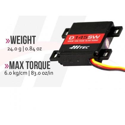 Hitec D145SW Wide Voltage Slim Wing Servo