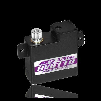 MKS HV6110 Coreless Servo 10 mm, 3.4 kg/cm, 0.10 s/60°