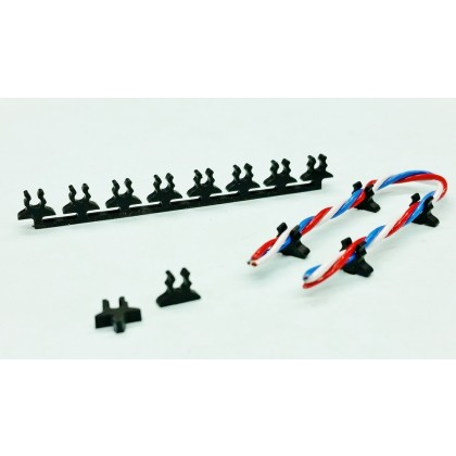 Cable Holder PowerBox Premium + Maxi Wire Single Click Holder from STV-Tech 012-07