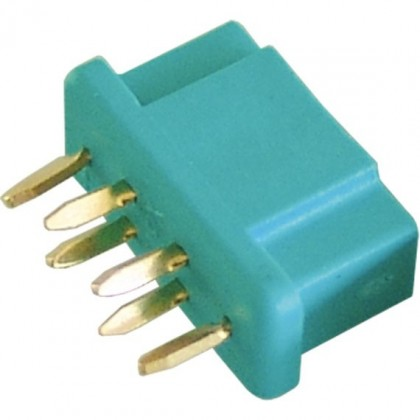 MPX Connector 60 amp High Current Green - Female