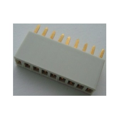 Multiplex Flat 9 Pin Female MPX Connector