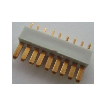 Multiplex Flat 9 Pin Male MPX Connector