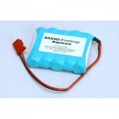 Ripmax Panasonic Eneloop 6.0v 800mAh AAA Ni-MH Rx Pack Flat