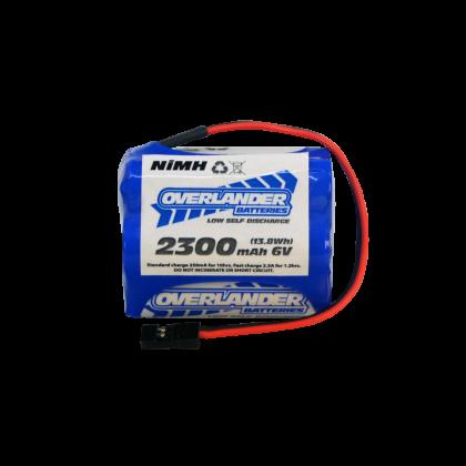 Overlander LSD AA 2300mAh 6v Hump NiMh Battery 3434