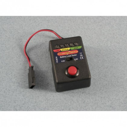 Battery Load Tester 4.8 / 6V NiCd, NiMH P-FS-BC04