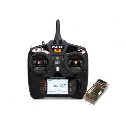 Spektrum NX6 6-Channel System with AR6610T Receiver SPM6775