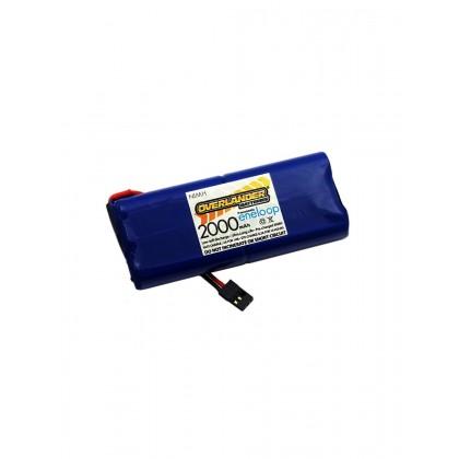 Panasonic Eneloop AA 2000mAh 7.2V Aurora NiMH Battery 2873