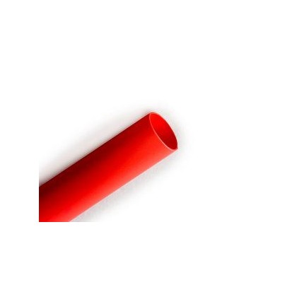"1/4"" (6.35mm) Heat Shrink Tubing 1 Metre - Red"