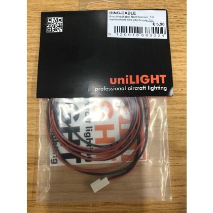 UniLight 1m Connection Cable Afterburner Ring