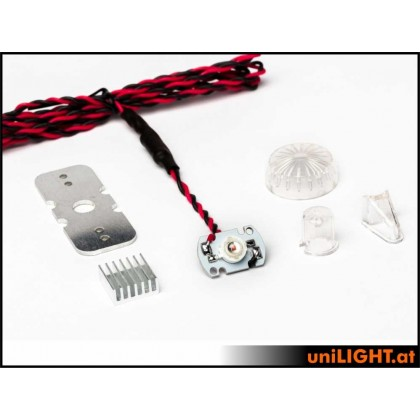 UniLight 10 / 24mm ROUND navigation light, 8W White