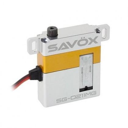 Savox Low Profile Glider Digital Servo 8kg/0.13@6v