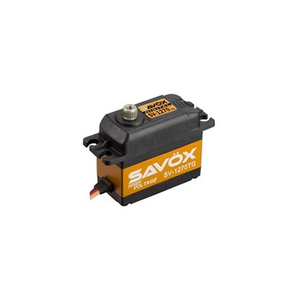 Savox SV-1270TG High Voltage Standard Size Ultra Torque Servo 35KG