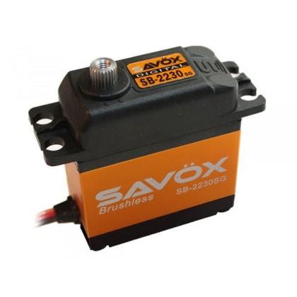 Savox SB2230SG Digital High Voltage Brushless Servo 42KG/0.13s SAV-SB2230SG