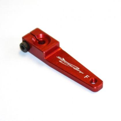 """Secraft Futaba V2 1.25"""" (M3) Servo Arm (Red) SEC002"""