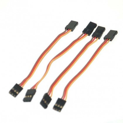 JR Male-Male Servo Patch Lead ideal for Gyro's 250mm