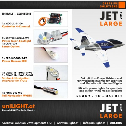 UniLight Jet Large Lighting Set