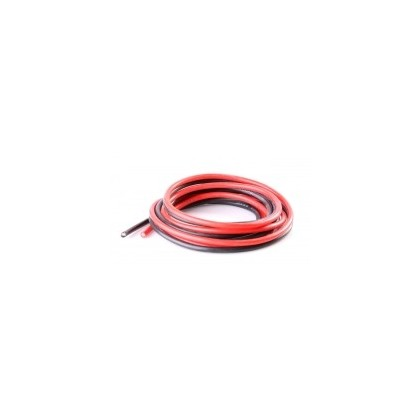 Logic Silicone Wire 24AWG 1m Black/1m Red (40 Strands OD1.6mm) O-LGL-SW24AWG