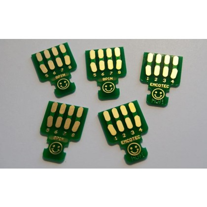Emcotec MPX Soldering PCBs 8pin, 5 pieces A85315