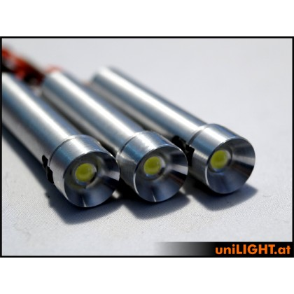 UniLight 8W x 3 Triple Spotlight 12mm T-Fuse White
