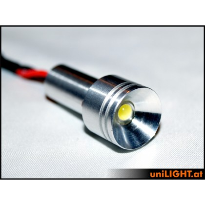 UniLight 4W Aluminium Spotlight 15mm White
