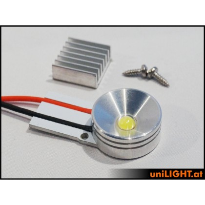 UniLight 8W x 2 Gears Spotlight UltraPower 20mm White