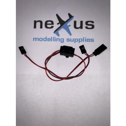 Switch Harness 300mm JR Spektrum from Electriflyer
