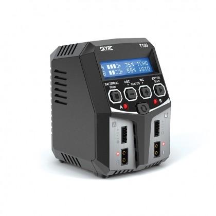 SkyRC T100 AC/DC Dual Balance Charger SK-100162 2x50Watt