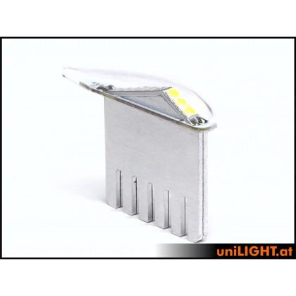 Unilight 5Wx2 Position Light 6mm GREEN PRO6-050x2-GN