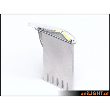 Unilight 9Wx2 Position Light T-Fuse 6mm Green PRO6F-090x2-GN