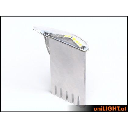 Unilight 9Wx2 Position Light T-Fuse 6mm White PRO6F-090x2-WE