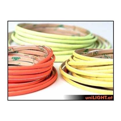 UniLight COB LED Strip 3mm Yellow COB3-040-GE
