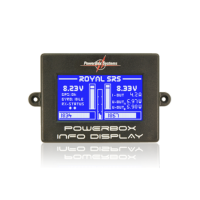PowerBox Royal SRS iGyro With SensorSwitch, GPS & LC Display 4710 4250416702555