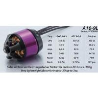 Hacker A10-9L Brushless Outrunner Motor 1700KV 97100009